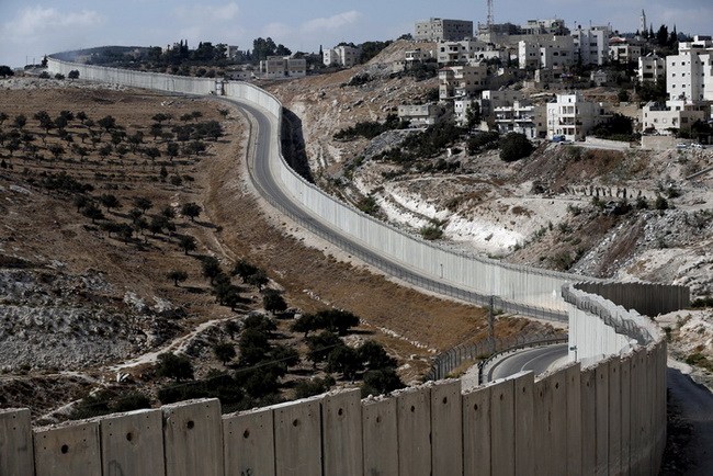 ISRAEL-PALESTINIANS-CONFLICT-WALL